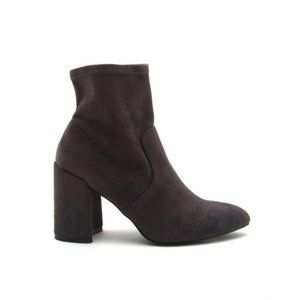 Charcoal Sock Bootie Size 10
